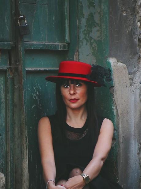 Sombrero-canotier-rojo