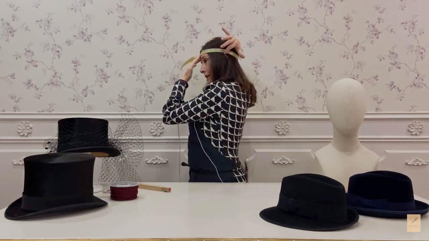 talla de sombrero